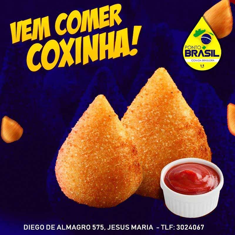 Donde comer Coxinhas en Lima-Perú